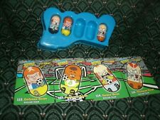Moose's Mighty Beanz - Series 2 - set of 3 beans & 4 cards - SOCCER TEAM