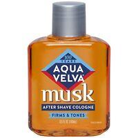 3 PACK Aqua Velva Musk After Shave Cologne 3.5 oz