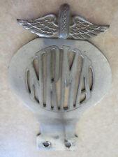 Vintage 1950s brass NRMA car badge for Ford Holden Austin Morris MG Jaguar