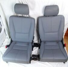 MERCEDES BENZ ML 270 LEATHER REAR SEATS 6-7 W163 BOOT SEATS 1999-2005 MODEL