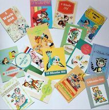 Baby Milestone cards - Retro Unisex Design