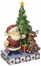"""Jim Shore """"Rudolph the Red-Nosed Reindeer� Traditions, Tangled Rudolph Stone"""