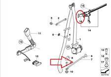 BMW GENUINE 3 SERIES E92 07-13' SEAT BELT EXTENDER RIGHT HANDOVER ARM 7330782