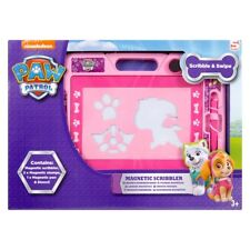 Paw Patrol Marshall Chase Rubble Large Magnetic Scribbler Kids Drawing Board
