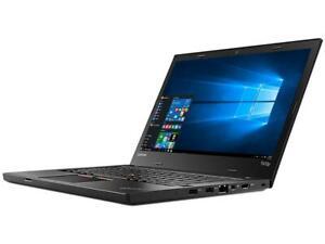 "Lenovo ThinkPad T470P i7 7820HQ 2.9GHz 16GB 512GB SSD 14"" 1920x1080 FHD."