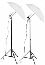 Fancierstudio 2 Light Kit (DK2) Umbrella Lighting Kit, Professional Lighting ...