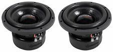 "(2) American Bass XD-844 8"" 600 Watt Car Subwoofers DVC 4 Ohm Subs 90 Oz Magnets"