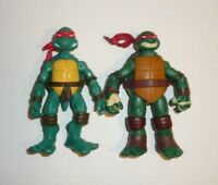 Lot of 2 TMNT Action Figures Raphael - Teenage Mutant Ninja Turtles