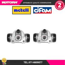 101612 2 Cilindretti freno post.Alfa Romeo-Fiat-Lancia (MARCA-CIFAM,METELLI)