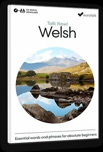 Eurotalk Talk Now Welsh for Beginners - Download option and CD ROM