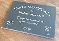 Personalised Stone Memorial Grave Marker Slate Memorial Plaque Grave Headstone