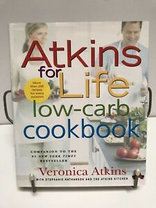 Atkins For Life Hardcover- The Complete Controlled Carb Program - Hardcover