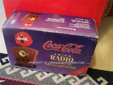 RARE VINTAGE COCA-COLA AM/FM RADIO W/LIGHTED COKE DIAL