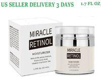 Miracle Retinol Cream Hyaluronic Acid & Vitamin C Anti-Aging Wrinkle GEL Serum