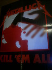 METALLICA - KILL 'EM ALL - POSTER im Format 44 cm x 58 cm THRASH METAL