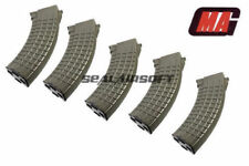 MAG 100rd Waffle Airsoft Toy Magazine For G&P Marui Std 47 74  AEG OD 5PCS