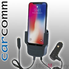 Carcomm Power Active Cradle for Apple iPhone X Xs Car Charger w/ Antenna Coupler