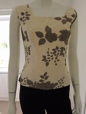 Alex & Co size 14 linen & silk fully lined camisole top BNWT
