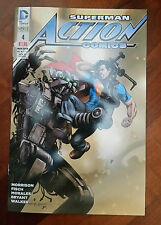 SUPERMAN N° 4 ACTION COMICS marzo 2016 NEW 52 SPECIAL DC COMICS LION -NUOVO-NU3