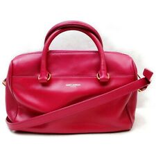 SAINT LAURENT Shoulder Bag  Rose Leather 1130223