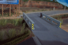 Osborn Models HO * Set of 2 * 30' CONCRETE BRIDGE RAILINGS * NEW Kit RRA1055