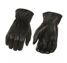 Milwaukee Leather Men's Unlined Deerskin Gloves w/ Cinch Wrist - MG7595, XL