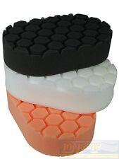 Chemical Guys Hex Logic Handpads 3er Set Orange,Weiß, Schwarz