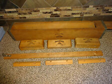 Vintage - Its Right Masonite - Cutter Kit in Wooden Box