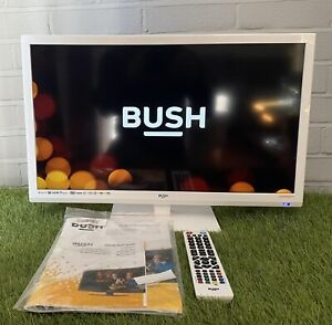 "White Bush 24"" LED TV DVD Combi With Remote & Manual"