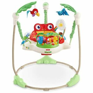 Fisher Price Rainforest Jumperoo Baby Jumper Bouncer Activity Center