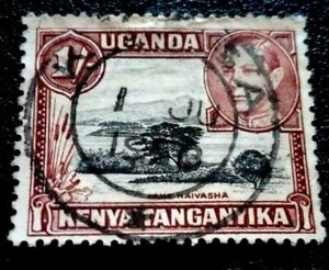 KENYA: 1938 Issues of 1935 but with Portrait  of King George VI. 1 Sh