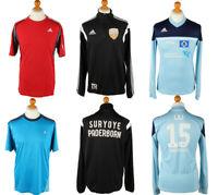 Vintage Mens Branded Shirts Tops Adidas Nike Puma Job Lot Wholesale x15 -Lot608