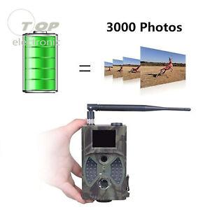 HC-300M HD Hunting Trail Camera Digital Animal IR Night Vision 1080P Video GPRS