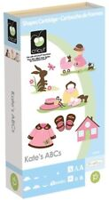 CRICUT *KATE'S ABCs* SHAPES & BABY GIRL FONT CARTRIDGE *BRAND NEW SEALED*