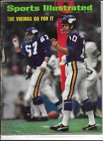 Sports Illustrated January 7 1974 The Vikings Go For It Fran Tarkenton NM/M