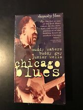 Sealed Chicago Blues Rhapsody Films VHS Muddy Waters Buddy Guy Junior Wells