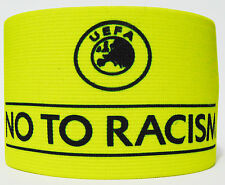 Champions League No to Racism Captain Armband Fascia Capitano Brazalete Capitan