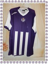 B - Maillot  TFC Toulouse Football Club Violet Blanc Kappa Taille XL Neuf