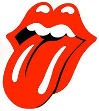 Rolling Stones Iron On Transfer For T-Shirt & Other Light Color Fabrics #1