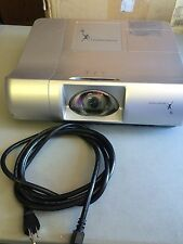 PROMETHEAN PRM-30 HD 720p LCD PROJECTOR, NEW FACTORY LAMP!!