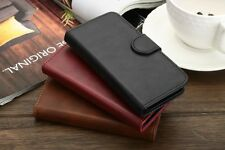 iPhone 5 5S 5SE 6 6S Magnetic Leather Flip Case Cover Card Slot Stand Wallet