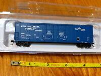 Atlas N #50001410 Coin Millwork (53' Evans Double Plug-Door Box Car) Rd#11264