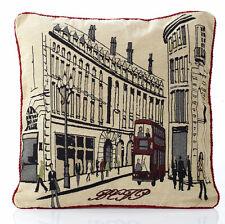 "Cushion Cover Tapestry 18x18"" 45x45cm Regent Street London"