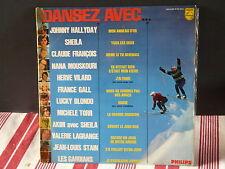 Dansez avec .. HALLYDAY / CLAUDE FRANCOIS / SHEILA / TORR / BLONDO / GALL