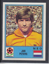 PANINI-EUROPA 80 - # 75 Jan Peters-NEDERLAND