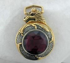 Knightstone Collection MISTRESS OF FIRE Pocket watch Red GEMSTONE Boris Vallejo