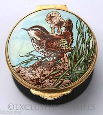 Toye Kenning Spencer The Wren RSPB Series Enamel Box