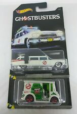 2017 HOT WHEELS 1/64 SCALE DIE CAST GHOSTBUSTERS MOVIE ECTO-1 AND BREAD BOX