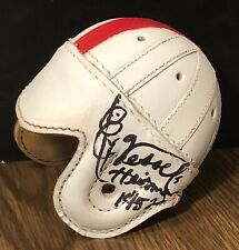 Billy Vessels Autographed Leather Mini Helmet RARE Oklahoma HEISMAN PSADNA