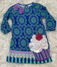 Counting Daisies Girls Cupcake Dress Size 3T